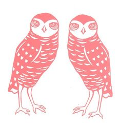 'Burrowing Owl Couple' by Flight 64