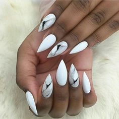 white stiletto nails best 25 stiletto nails ideas on pinterest ...