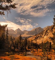 Sequoia National Park in the Southern Sierra Nevada of California
