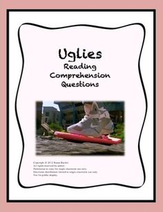 I need help with a literary essay on uglies?!?