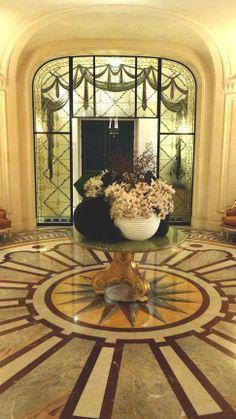 Hotel in Paris..SHANGRI LA lobby