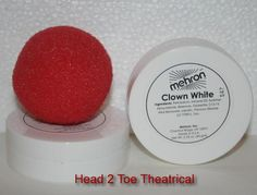 Honking Noise Maker Clown Nose Elasticated IT Red Plastic Circus Halloween