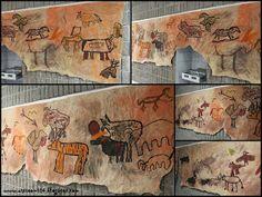 Art Room 104: 6th Grade: Prehistoric Cave Art