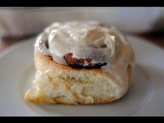 Receta Frosting para Cinnamon Rolls - Glaseado fácil y rápido - YouTube