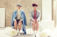 Btob (Peniel and sunjae) Yook Sungjae, Minhyuk, Born To Beat, Korean K Pop, Cube Entertainment, Korean Model, Asian Style, Lee Min, Pop Group