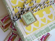 Great idea for organizing Box Tops for Education or other labels.