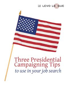 Job Search tips from the politicians