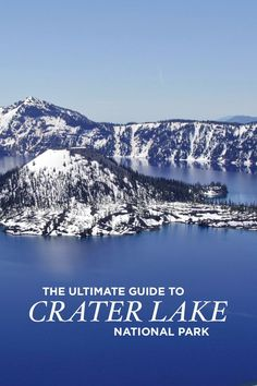 Traveling to Oregon? Save this pin and click to see the ultimate guide to Crater Lake National Park. It includes the best things to do in Crater Lake, activities for winter and summer, top Crater Lake attractions and views, best places to stay near the national park, and more // Local Adventurer #localadventurer #oregon #traveloregon #nationalpark #craterlake