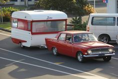 Love this! There must be a vintage camper in my future and RED!! Perfect