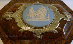 Antiques Atlas - Antique English Tea Caddy By Asser & Sherwin C1860