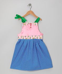 Take a look at this Cobalt Modern Princess Dress - Infant, Toddler & Girls by MarKoos Modern Design on #zulily today!