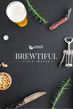 'Brewtiful' Pub Styled Stock Photography for your in-venue Promotions via @teameasil