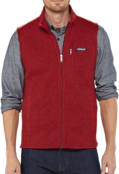 Soft, warm and durable—the men's Patagonia Better Sweater vest ...