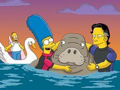 Personajes Famosos En Los Simpsons