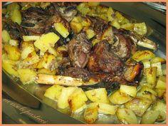 Agnello con patate al forno - Ricette di non solo pasticci