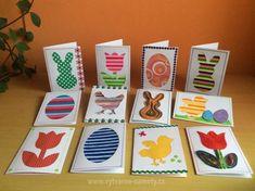 Velikonoční přáníčka Easter Crafts, Advent Calendar, Bunny, Holiday Decor, Spring, Eggs, Easter Activities, Hare, Egg