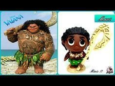 MAUI | Polymer Clay Tutorial | Disney - YouTube