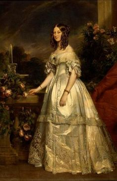 File:Full portrait of HRH The Duchess of Nemours by Winterhalter (Princess Victoria of Saxe-Coburg and Gotha).jpg