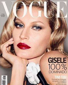 f897e952b8336c Gisele Bündchen Once Again Closes out the Year with a Vogue Brasil Cover