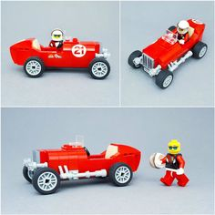 Old fashioned racing car