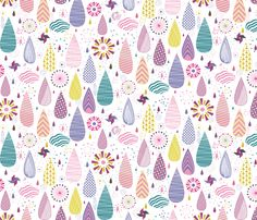 Magical Weather fabric by demigoutte on Spoonflower - custom fabric