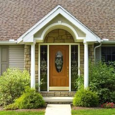 Maximizing Curb Appeal w/ New Entry Doors traditional front doors Sidelight Windows, Windows And Doors, Entrance Doors, Patio Doors, Door Entryway, Front Entry, Front Porch, Traditional Front Doors, Fiberglass Entry Doors