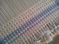 Waffle weave on a rigid-heddle loom