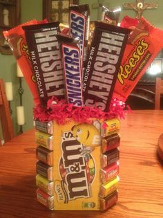 Made this as a get well gift for a friend with a crazy sweet tooth...