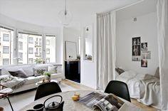 wall bedroom tiny apartment