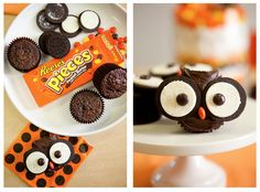 Owl treats for Halloween! Get creative during this festive holiday