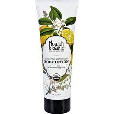Nourish Body Lotion - Organic - Lemon Thyme - 8 fl oz