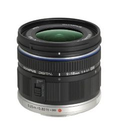 Olympus M ED 9-18mm f/4.0-5.6 micro Four Thirds Lens for Olympus and Panasonic Micro Four Third Interchangeable Lens Digital Camera by Olympus. $699.99. From the Manufacturer The M. Zuiko Digital ED 9-18mm F4.0-5.6 (35mm equivalent 18-36mm) lens is designed to maximize the performance advantages of the Micro Four Thirds System, and it's significantly lighter and more compact--easily fitting in a jacket pocket. The new lens, made with ED (extra-low disp...