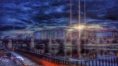 Miranda de Ebro anochecer artística 2015