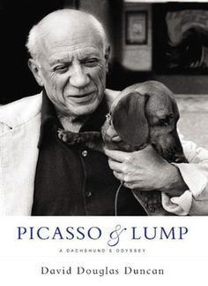 Pablo Picasso: Pablo Picasso was known for his deconstructionist paintings and design. Nothing could have been more bizarre in shape and form than a Dachshund.The 20th Century artist loved his one and only dog. His name was Lump.