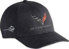 04d734e127bba C7 Stingray Cotton Twill Cap. ChevyMall · Corvette Caps