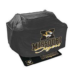 Mr. Bar-B-Q NCAA® University of Miissouri Tigers Grill Cover and Grill Mat Set