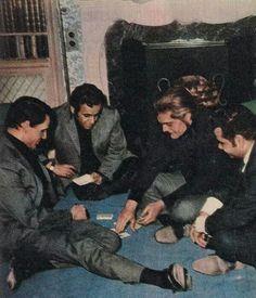 عمر الشريف ..عبدالحليم حافظ ..بليغ حمدي ..