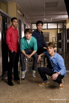 Demetrius Joyette (Dallas), Daniel Kelly (Owen), Dylan Everett (Cam) & Craig Arnold (Luke) #DegrassiSeason12