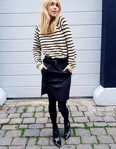 Look De Pernille: Three words: stripes done right.