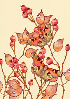 'Keepers of the Wild Berry Bush' by Colleen Parker, via Flickr