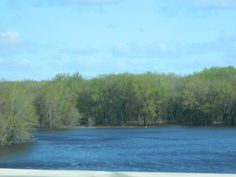 The Mississippi River In Lacrosse Wisconsin