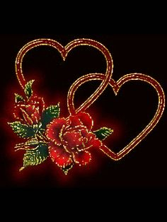 Stunning image - - from the clip art category animated Love gifs & images! Animated Heart, Animated Love Images, Animated Gif, Corazones Gif, Love You Gif, Birds In The Sky, Heart Gif, Rose Images, Heart Pictures