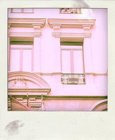 window in Madrid