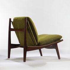 Joseph-André Motte; #790 Lounge Chair, c1960.