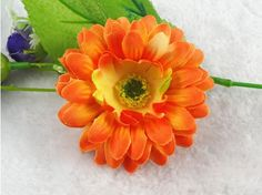 Silk Gerbera Daisy Flower Heads Wedding Party Decoration Favour (Orange) >>> Read more at the image link. Gift Wrapping Bows, Make A Gift, Gerbera, Wedding Accessories, Favors, Daisy, Kids Fashion, Best Gifts, Like4like
