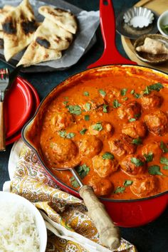 Chicken Meatball Tikka Masala - The Candid Appetite