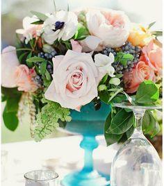 Inspiración para los centros de mesa para tu fiesta de casamiento Image: 3
