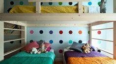 Chambre à plusieurs enfants