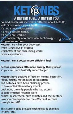 KETONES!! Your body thrives off them. Prefers this over glucose for energy. Muscle sparing! Order some today. Last call for VIP enrollment too. Message me for details. Or go to website to learn more
