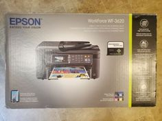 $249.99 Only! ~ New Epson Workforce WF-3620 Color Wireless Inkjet All-in-One Printer Copy Scan CLICK HERE! #CheapPrinter, #PrinterScannerCombo, #CheapPrinterLaser, #WirelessPrinterSale, #PrinterScannerSale, #PrinterCopierSale, #UsedPrinter Wireless Printer, Printer Scanner, Laser Printer, Cheapest Printer, Epson, All In One, Color, Colour, Colors